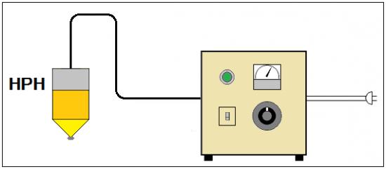 真空チャンバー対応ハロゲンポイントヒーター HPH-80 シリーズ