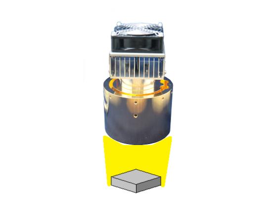 半導体の熱膨張評価-ハロゲンポイントヒーターの活用法