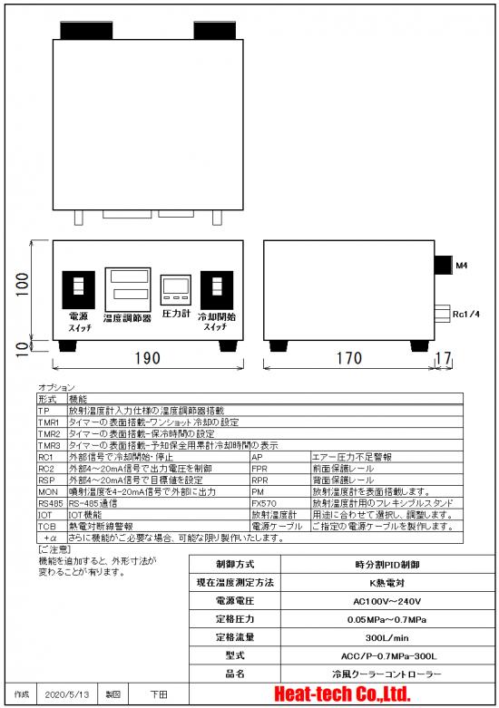 圧力計搭載型 ACC/P