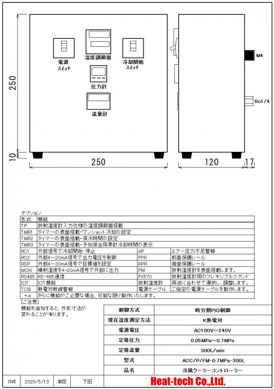 圧力計・流量計搭載型 ACC/P/FM